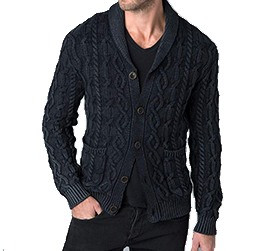 Mens Kinross Cable Shawl Cardigan Purchase