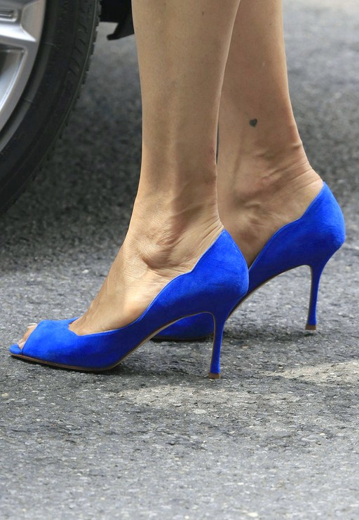 Peep Toe Pumps von Famke Janssen