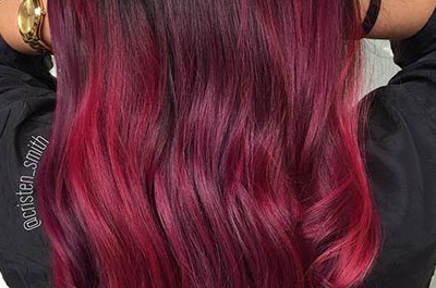 31 Bestes rotes Ombre-Haar Farbe Ideen