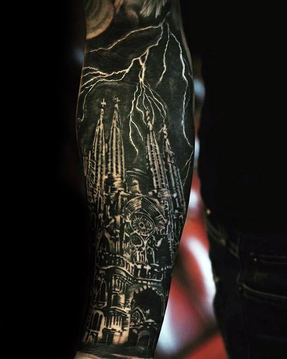 Jungs Kathedrale Tattoo Designs