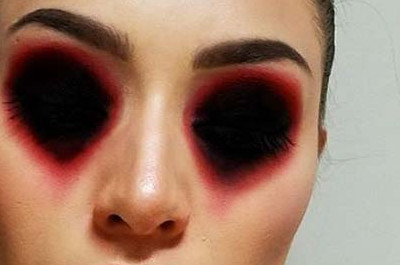 23 Kreatives DIY-Halloween Makeup-Ideen
