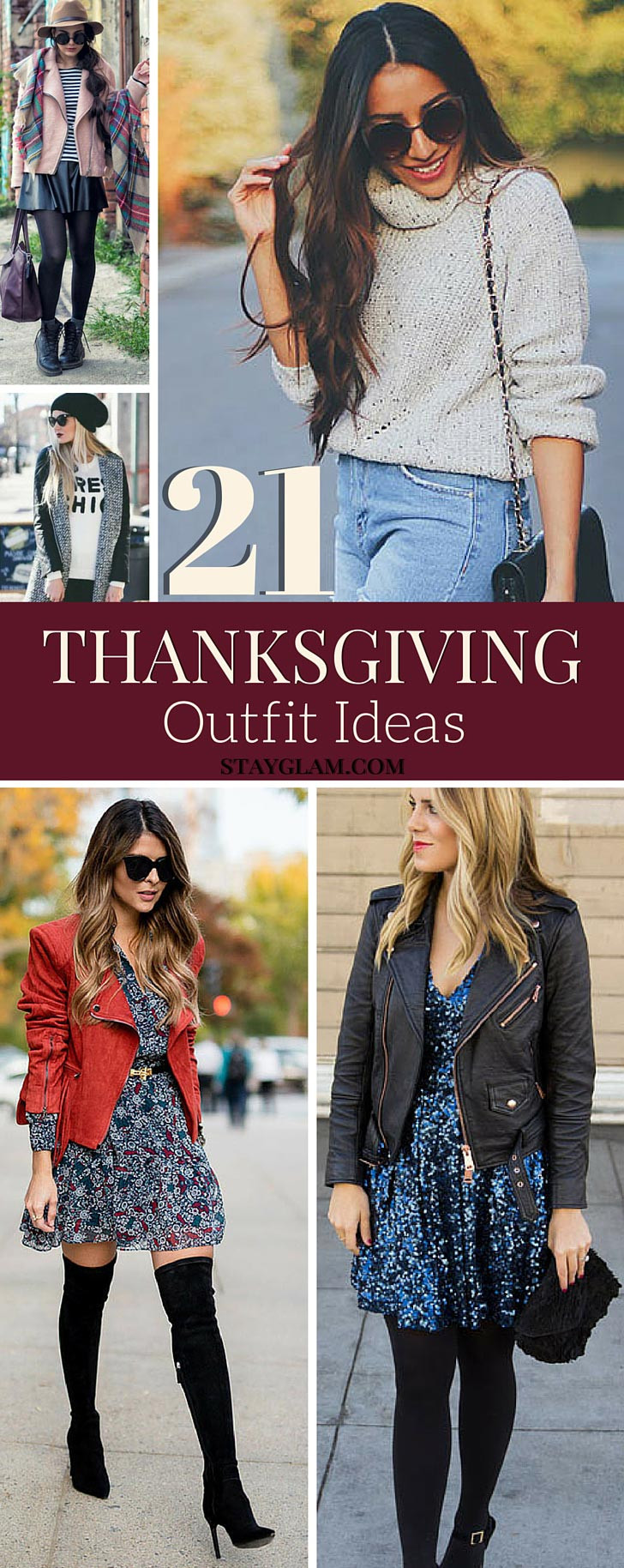 21 Bequeme stylische Thanksgiving-Outfits