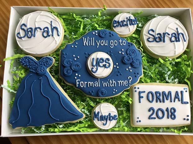 Prom Proposal Cookies