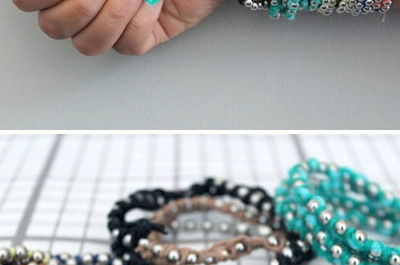 16 bonitos tutoriales de pulsera
