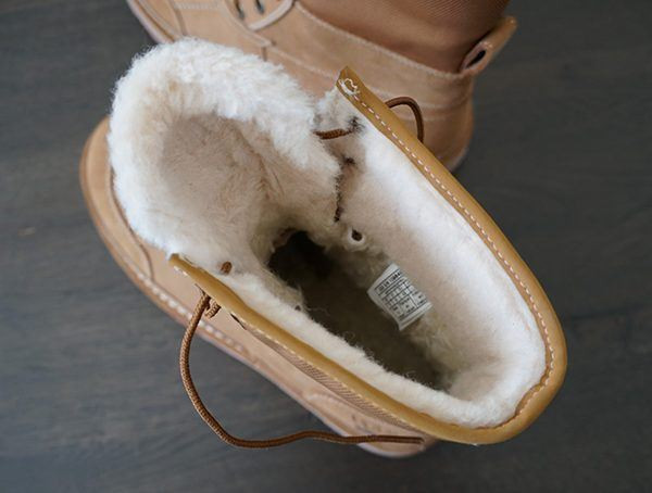 Uggpure Wool Sherpa-Textilfutter Ugg Avalanche Butte Boots