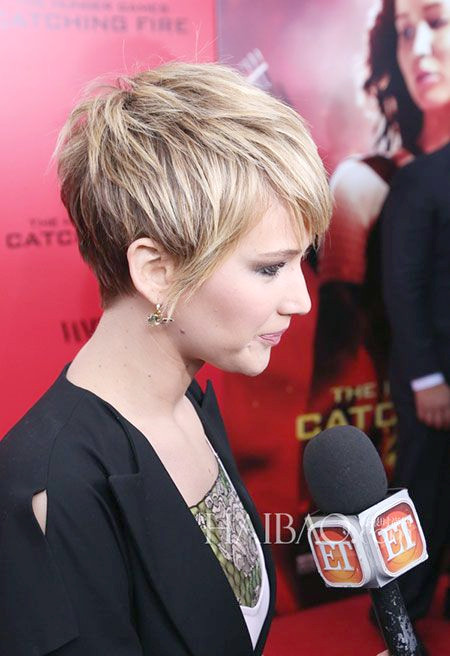 Jennifer Lawrence kurzes Haar