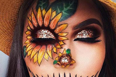 25 Hübsches DIY Halloween Makeup Looks & Ideen