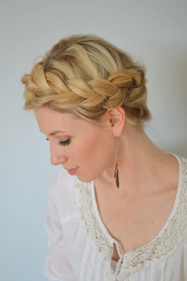 Crown Braid Frisuren