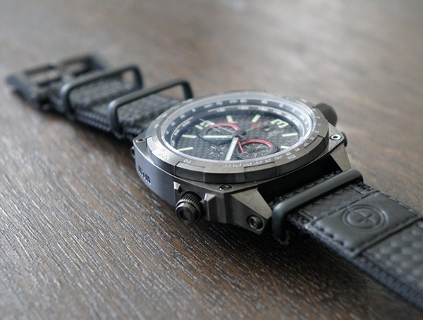 Carbon Lumi Dial Mtm Sonderfunktionen Cobra Tactical Watch