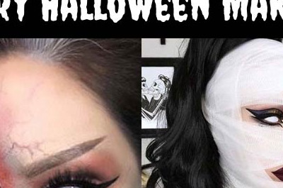 23 gruseliges Halloween-Makeup Ideen für 2018