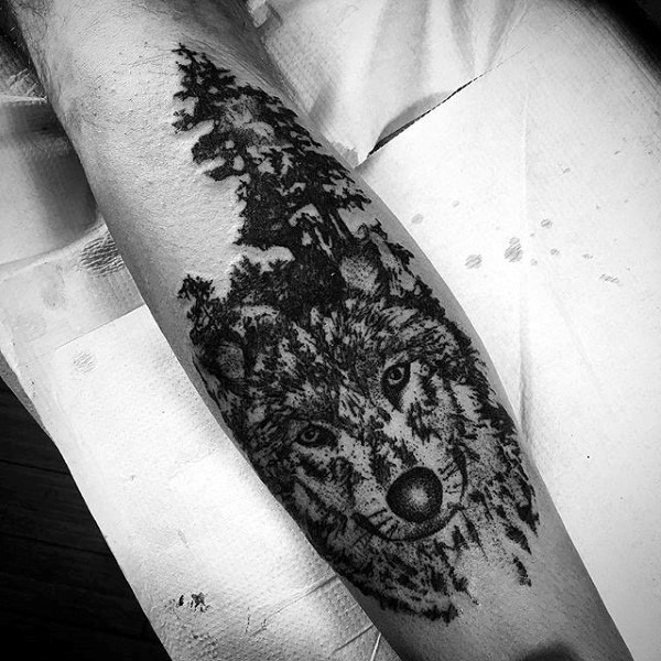 Die coolen kreativen Tattoo-Ideen von Wolf And Forest Mens