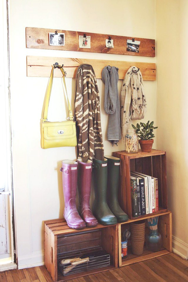Boot Organisation - Front Entryway