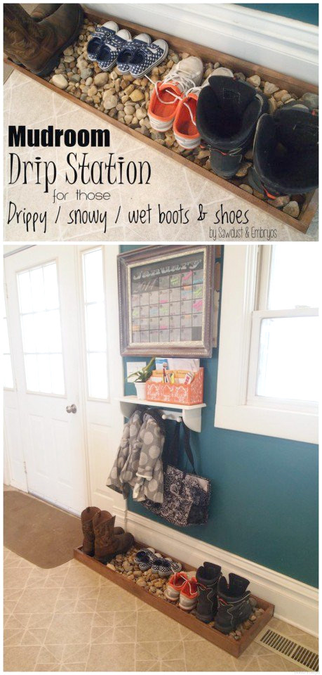 Boot Organisation - Mudroom