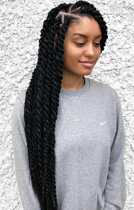 Jumbo Marley Twists
