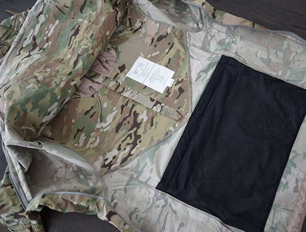 Multicam Otte Gear Tactical Herren Overwatch Anorak Interior Details