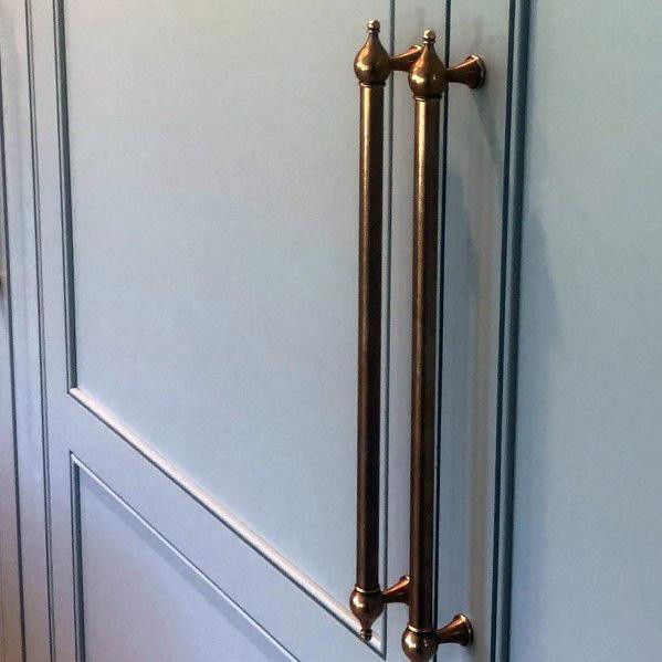 Awesome Kitchen Cabinet Hardware Ideen Kupfer