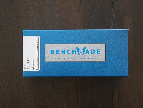 Benchmade 380 Aller Messerbox
