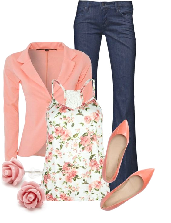 Frühling Polyvore Outfit