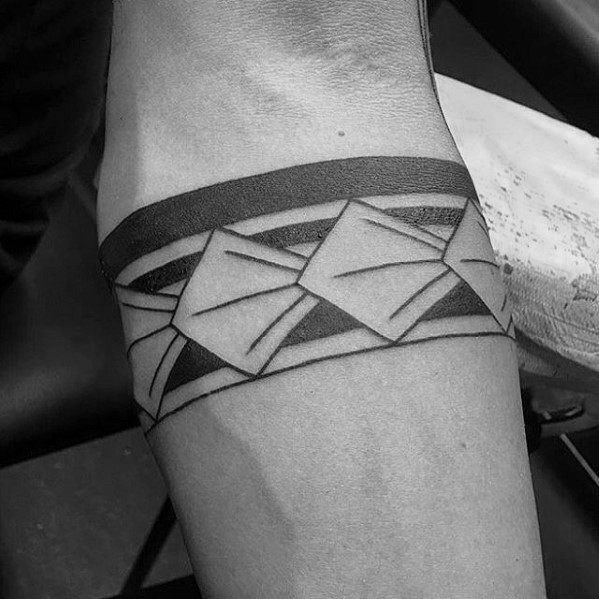 Männliche Armband Tribal Male Tattoos