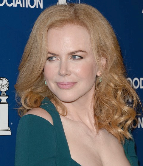 Nicole Kidman Mittellange Frisur: 2014 Soft Waves
