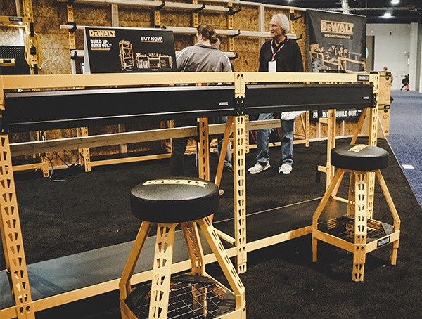 Dewalt Workstation mit 2019 Nahb Show in Las Vegas