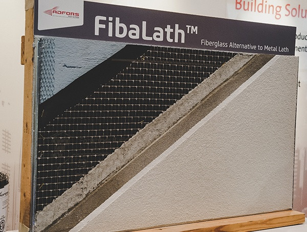 Fibalath Fiberglass Alternative zu Metal Lath 2019 Nahb Show